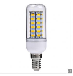 BOMBILLA LED DE MAZORCA CON CHIP SMD 2835 E14