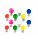 Bombilla led de colores E27  0.5w