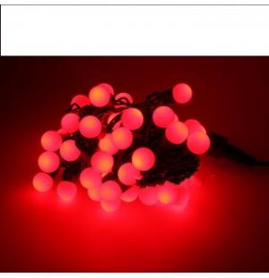 luces led interconectable guirnalda bolas 230V 5M exterior