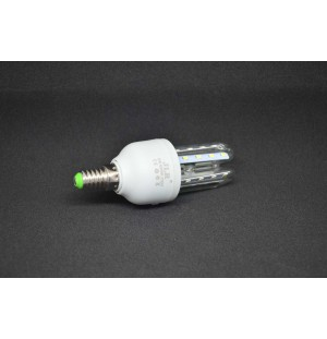 Bombilla led 3 TUBOS DE LED Rosca E14