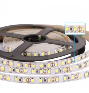 tiras led 12V  120leds/m    50W/5METRO   SMD2835   IP20