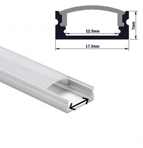 perfil aluminio  superficiel para tira de led