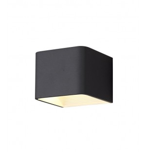 Aplique de pared NEGRO interior LED 5W 4000K