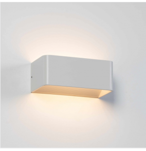 Aplique de pared BLANCO LARGO interior LED 6W 4000K