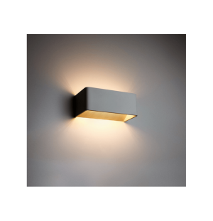 Aplique de pared NEGRO interior LED 6W 4000K