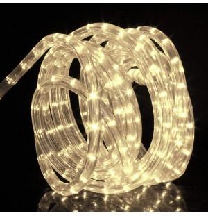 Manguera LED tubular 220V ( VENDE POR CADA DOS METROS) LUZ CALIDA