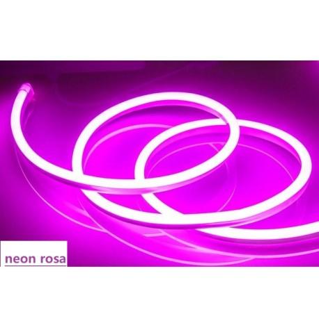 TIRA LED NEON 220V  9W (VENDA POR METROS) ROSA