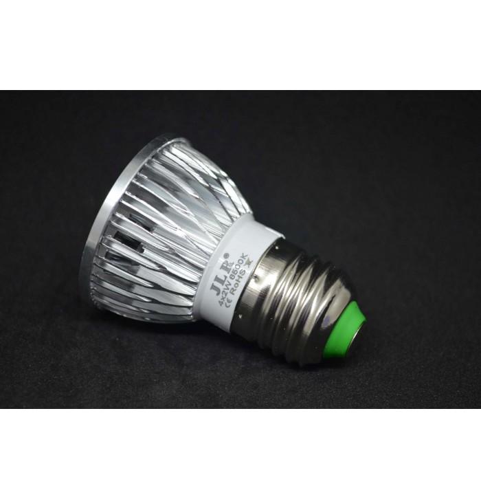 Foco led bajo consumo de 8w jdr e27 - Focos de bajo consumo para exterior ...