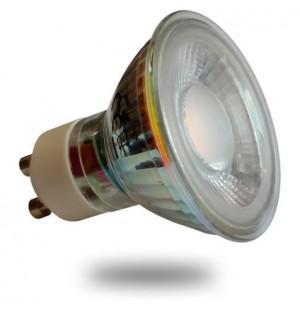Foco Led Bajo Consumo De 7W GU10-230V DIRECTO