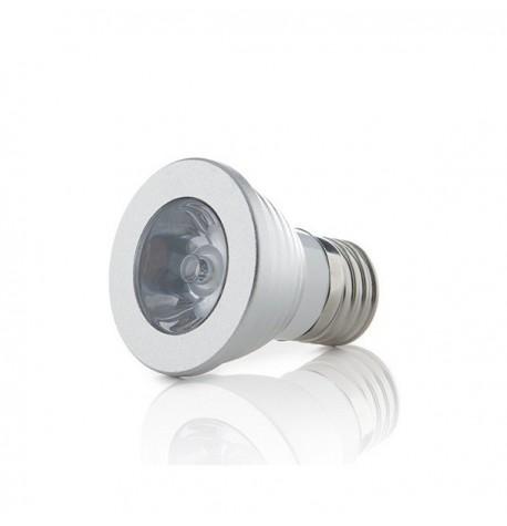 DICROICA RGB E27 3W LED
