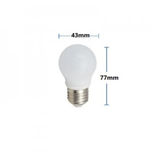 Pack 5 Bombilla Led 4W E27