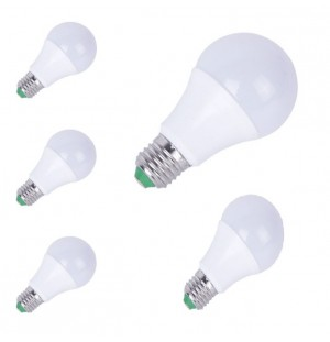 Pack 5 Bombillas Led E27 5W