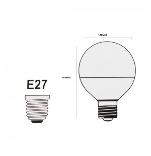 Pack 5 Bombillas Led E27 18W