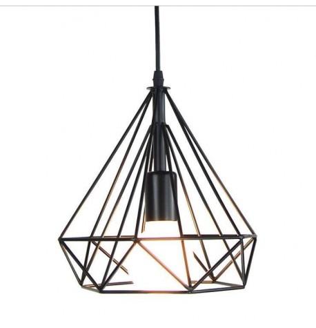 Lámpara techo bar black chel