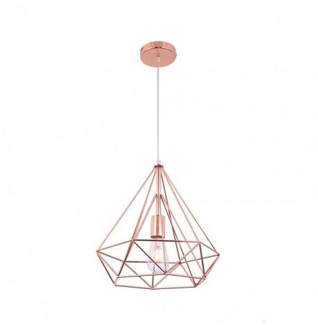 Lámpara de techo bar style rosa