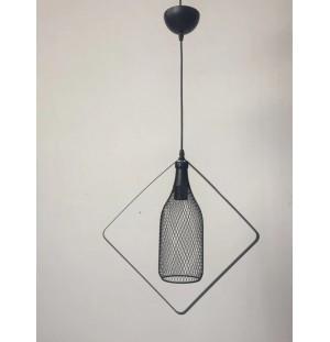 Lámpara botella de techo