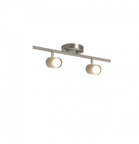 Lámpara techo 2 bombillas GU10