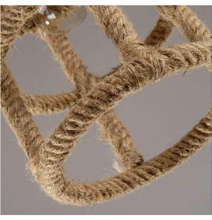 Lampara de techo diseño de cuerda E27
