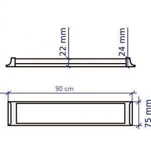 Plafon Led 90cm