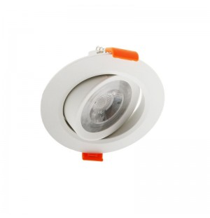 Foco Led Empotrado 6w 72mm
