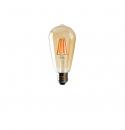 Bombilla Vintage Led Edison ST64  4W E27 2700K